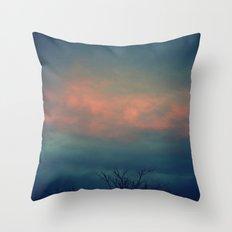 On The Cusp Throw Pillow