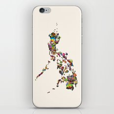 7,107 Islands | A Map of the Philippines iPhone & iPod Skin