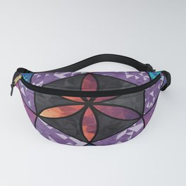 Fractal Seed of Life Fanny Pack