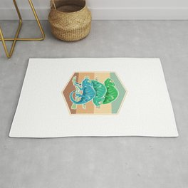 Colorful Reptile Rug