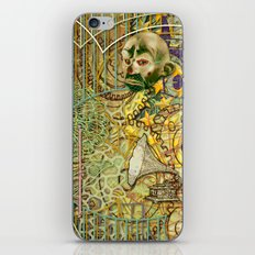 Grinding Out The Mean Layer (2) iPhone & iPod Skin