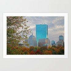 BOSTON STAND UP Art Print