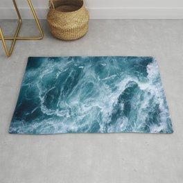 Ocean Storm | Classic Blue Rug