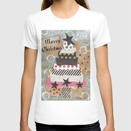 Shabby Chic Country Christmas Tree T-shirt