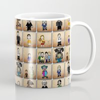 buffy the vampire slayer Mugs featuring Buffy the Vampire Slayer: Season One by BovaArt