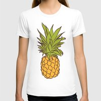 pineapples T-shirts featuring Pineapples by Stephanie Keir