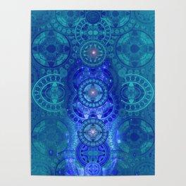 Boujee Boho Collection Glow Mandala Poster