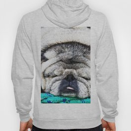 Tuckered Out Pug Hoody