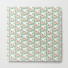 Orchid pattern 4 Metal Print