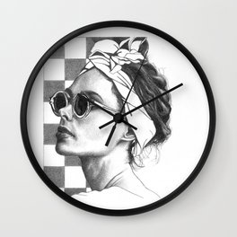 Summer in Paris Wall Clock