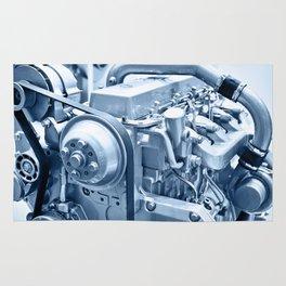 Turbo Diesel Engine Rug