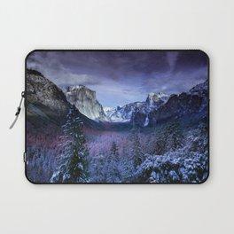 Yosemite in Winter Laptop Sleeve