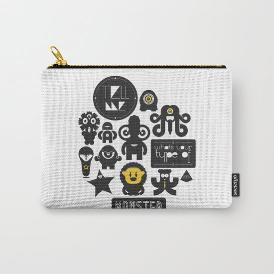 Monster Type Carry-All Pouch