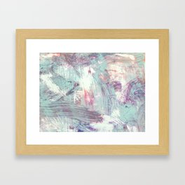 Weathered Rhythms Framed Art Print