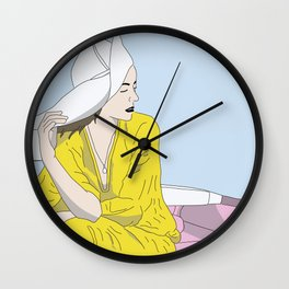 Perfect Places Wall Clock