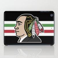 blackhawks iPad Cases featuring Al Capone Blackhawk by beejammerican