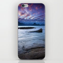Sunset Over the Cuillin iPhone Skin