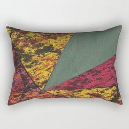Corner Splatter # 14 Rectangular Pillow