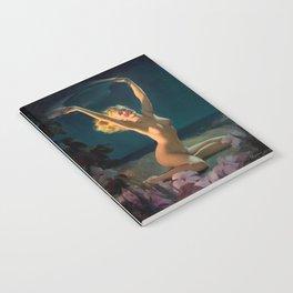 Gay Nymph by Gil Elvgren Pin Up Girl Notebook