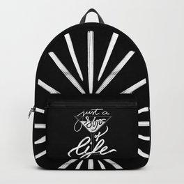Sip of life - Black Backpack