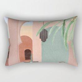 Moroccan Pool Rectangular Pillow