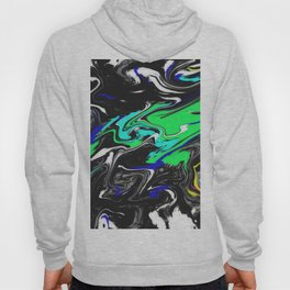 Glitch Swirly Marble Hoody