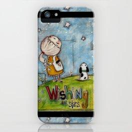 Wishing on Stars - by Diane Duda iPhone Case