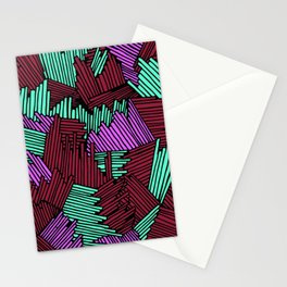 Happy Abstract Nr:03 Stationery Cards