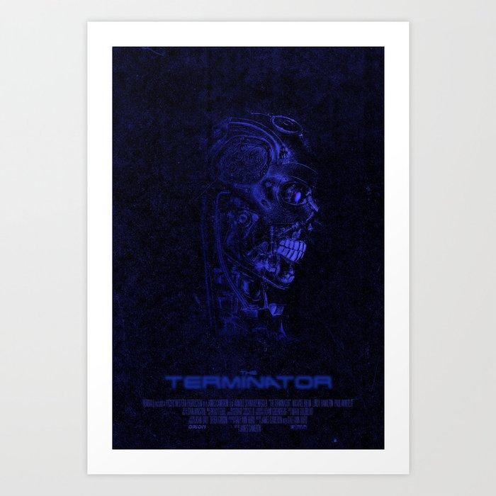 The Terminator - Version 3 Art Print