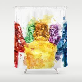Auditory hallucinations Shower Curtain