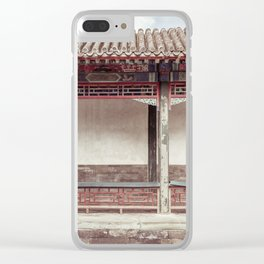 Mysterious East Clear iPhone Case
