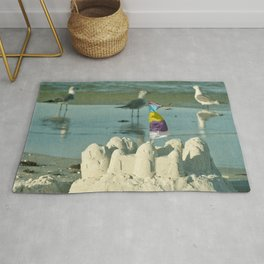 It's better at the beach #2 Rug