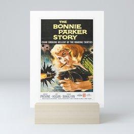 The Bonnie Parker Story Mini Art Print