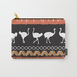 African Tribal Pattern No. 69 Carry-All Pouch