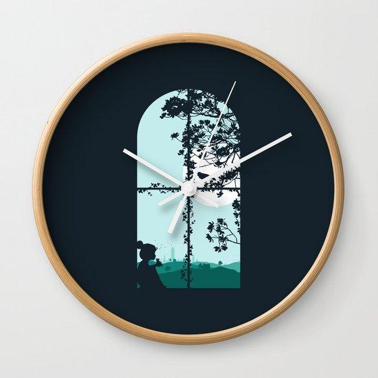 Mad World II Wall Clock