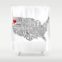 oregon Shower Curtains featuring Oregon by Taylor Steiner