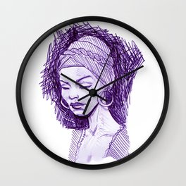 Madame Laveau Wall Clock