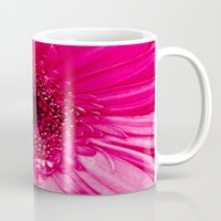 hot pink Mugs featuring Hot Pink by Tracey Krick Photography