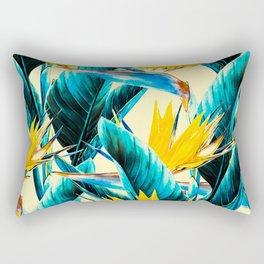 Exotic botanical Rectangular Pillow