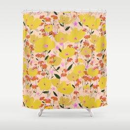 Wild Unruly Garden Shower Curtain