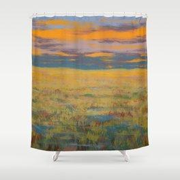 Flint Hills Abstract No.1 Shower Curtain