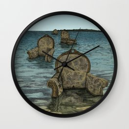Alices Tears Wall Clock