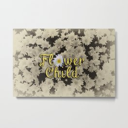 Flower Child Metal Print