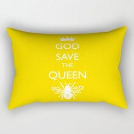 God Save the Queen (Bee) Rectangular Pillow