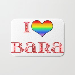 I love Bara Bath Mat