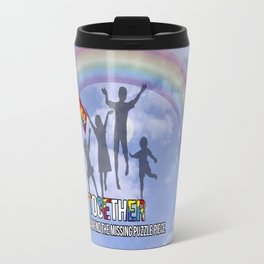Autism,Together we can find the missing puzzle piece, Travel Mug