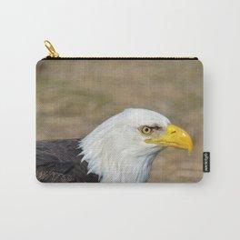 Alaskan Bald_Eagle Profile Carry-All Pouch