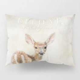 Believe You Can Pillow Sham