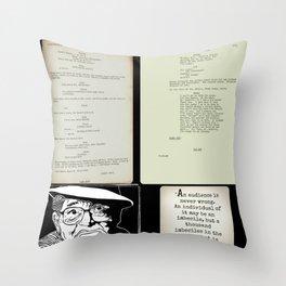 Billy Wilder screenplays Throw Pillow