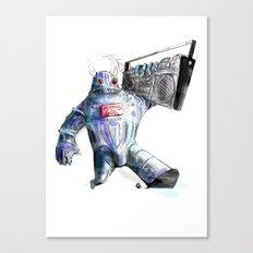 Ghetto Bot Canvas Print